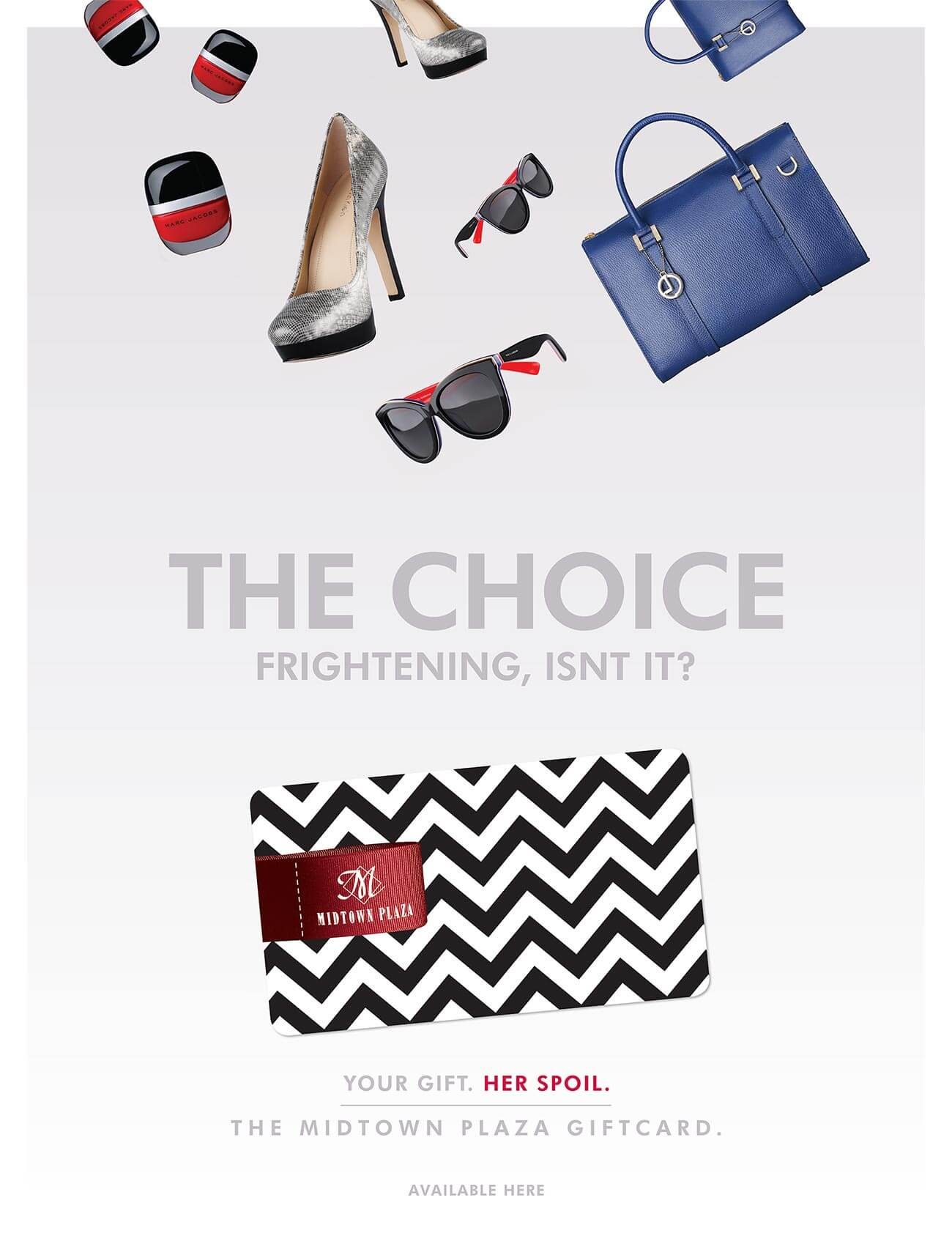 Giftcard Campaign Women's Poster